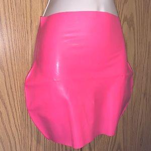 Latex skirts